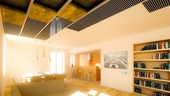 Film radiante techo