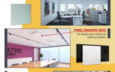 Electric radiant heating panels: The best solution for offices