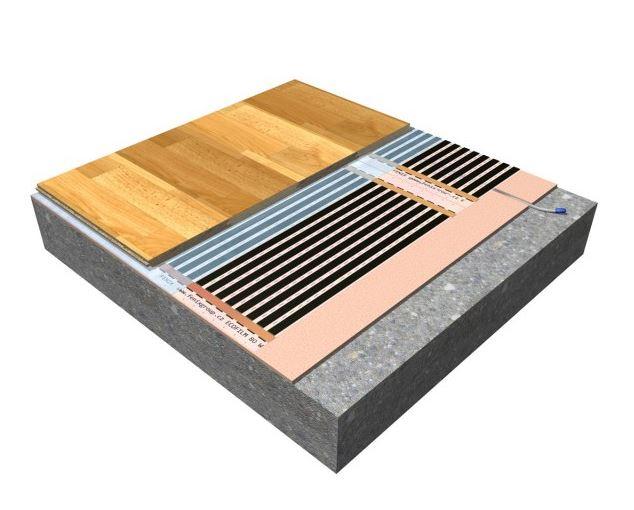 Comprar folio radiante ecofilm suelo f620 200 w m2 ancho 60 cm ceilhit - Folio radiante electrico ...