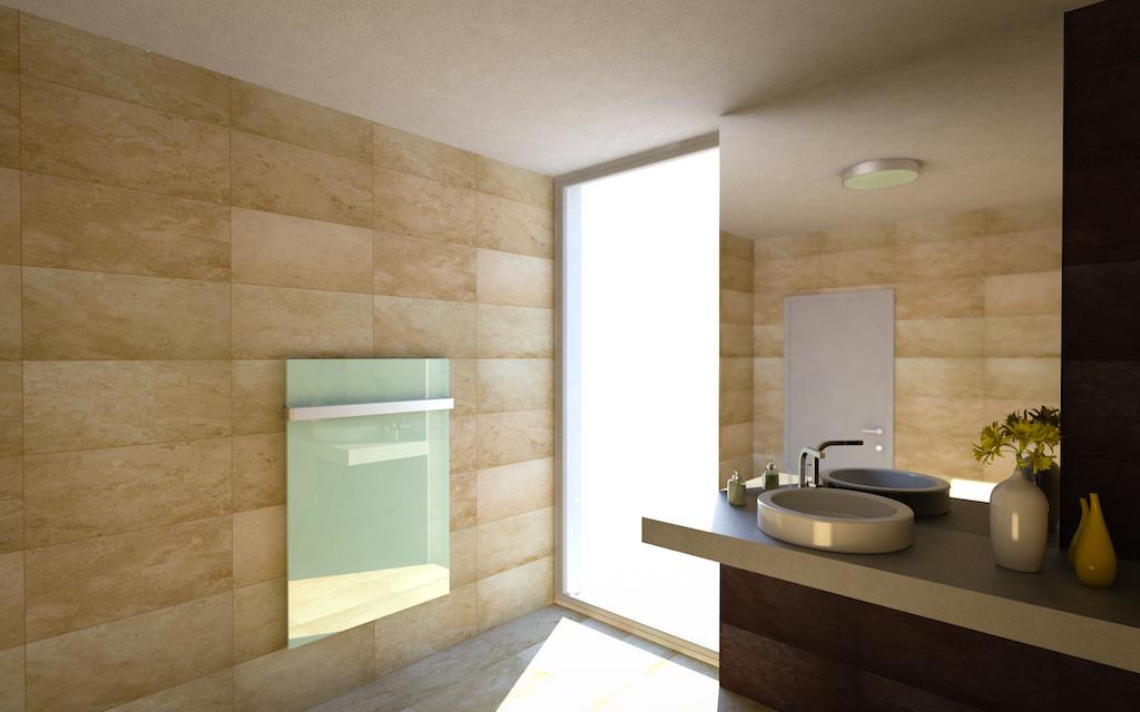 Panel radiante interior