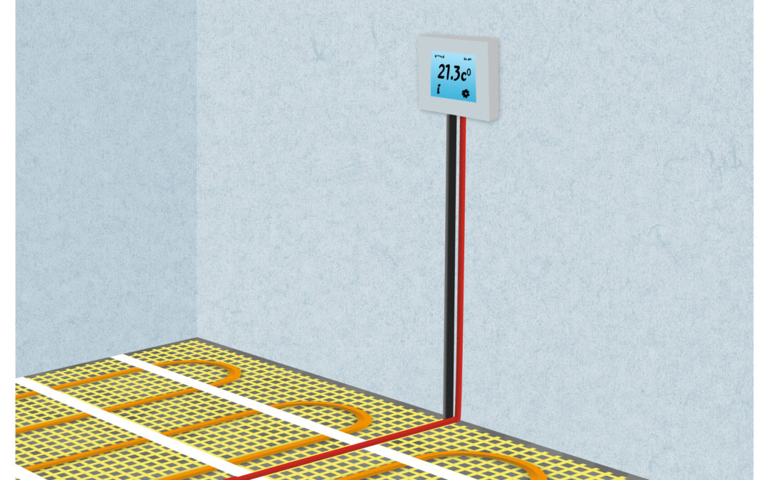 Installation of electric underfloor heating with heating mats. Part 4