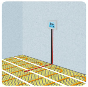 Installation Of Electric Underfloor Heating With Heating Mats Part 4