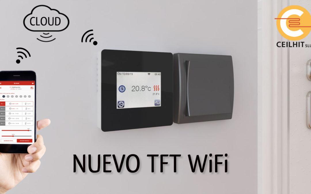 Nuevo termostato TFT WiFi