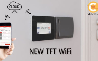 New thermostat TFT WiFi