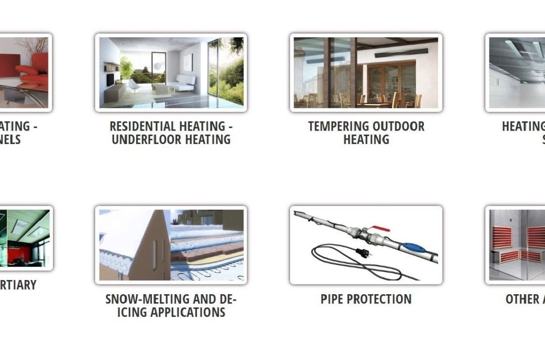 Do you know all the applications of electric radiant heating?